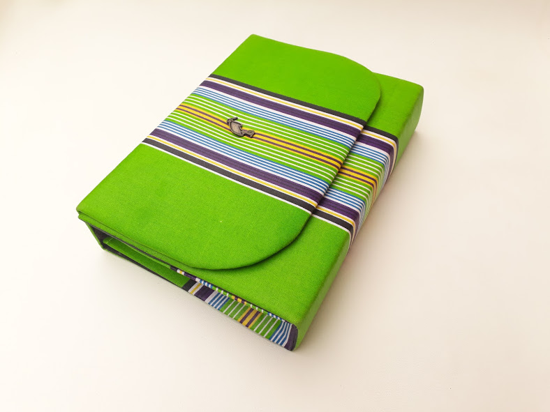Green Venda Clutch Bag African Print