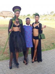 Lesotho fashion week neck piece